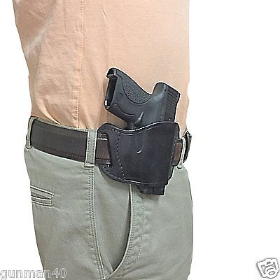 NEW Leather Gun Holster For S&W M&P Shield (9MM)