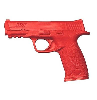 ASP 07343 Training Urethane Smith & Wesson M&P 9mm/.40 Red Simulator Firearm