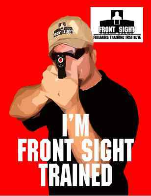 Front Sight Firearm Training BLUE Certificate (for Any Course, even Full Auto!)